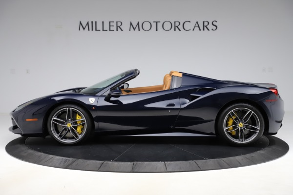 Used 2018 Ferrari 488 Spider for sale Call for price at Rolls-Royce Motor Cars Greenwich in Greenwich CT 06830 3