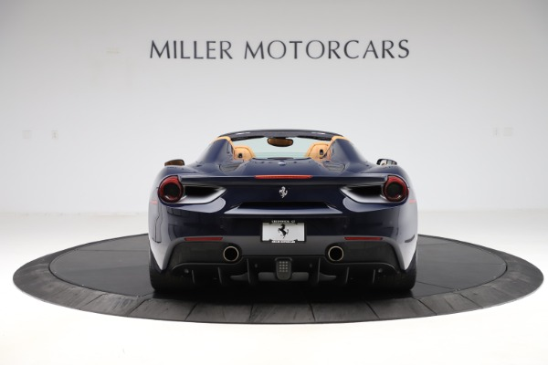 Used 2018 Ferrari 488 Spider for sale Call for price at Rolls-Royce Motor Cars Greenwich in Greenwich CT 06830 6