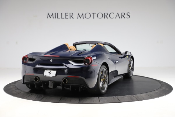 Used 2018 Ferrari 488 Spider for sale Call for price at Rolls-Royce Motor Cars Greenwich in Greenwich CT 06830 7