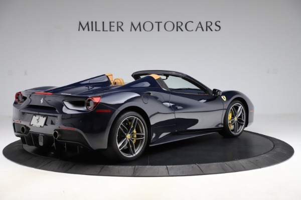 Used 2018 Ferrari 488 Spider for sale Call for price at Rolls-Royce Motor Cars Greenwich in Greenwich CT 06830 8