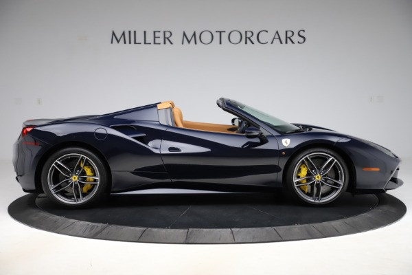 Used 2018 Ferrari 488 Spider for sale Call for price at Rolls-Royce Motor Cars Greenwich in Greenwich CT 06830 9