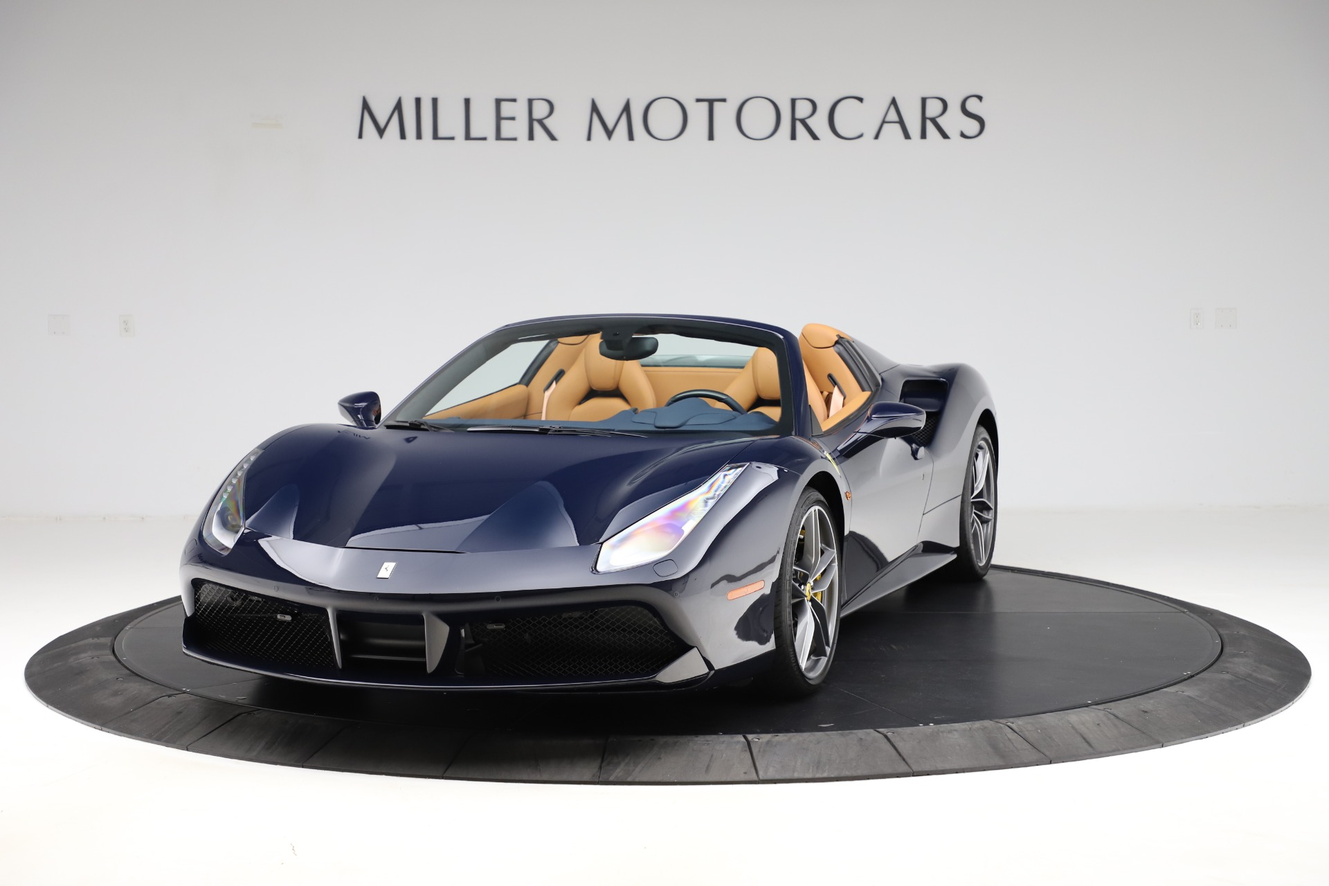 Used 2018 Ferrari 488 Spider for sale Call for price at Rolls-Royce Motor Cars Greenwich in Greenwich CT 06830 1