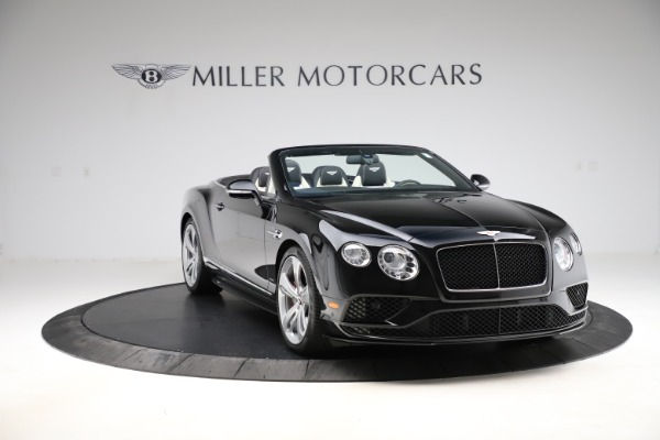 Used 2017 Bentley Continental GTC V8 S for sale $159,900 at Rolls-Royce Motor Cars Greenwich in Greenwich CT 06830 11