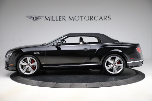 Used 2017 Bentley Continental GTC V8 S for sale $159,900 at Rolls-Royce Motor Cars Greenwich in Greenwich CT 06830 13