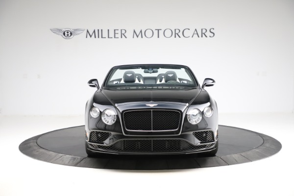 Used 2017 Bentley Continental GTC V8 S for sale $159,900 at Rolls-Royce Motor Cars Greenwich in Greenwich CT 06830 18
