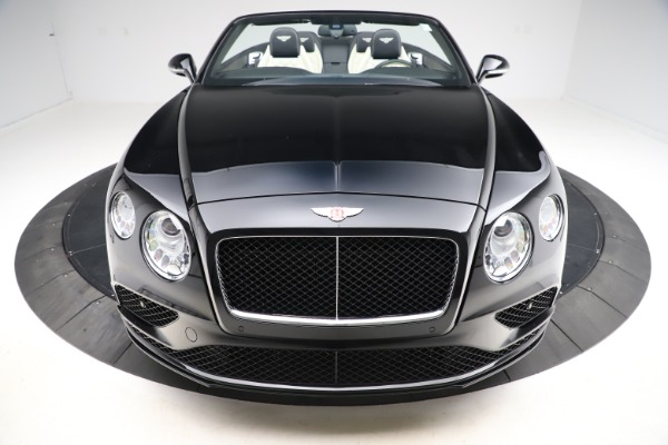 Used 2017 Bentley Continental GTC V8 S for sale $159,900 at Rolls-Royce Motor Cars Greenwich in Greenwich CT 06830 19