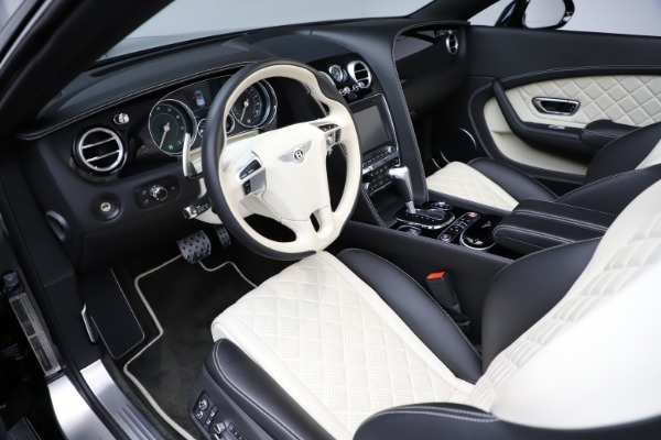 Used 2017 Bentley Continental GTC V8 S for sale $159,900 at Rolls-Royce Motor Cars Greenwich in Greenwich CT 06830 24