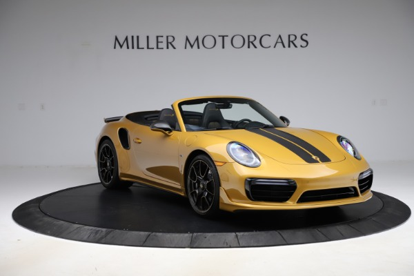 Used 2019 Porsche 911 Turbo S Exclusive for sale $249,900 at Rolls-Royce Motor Cars Greenwich in Greenwich CT 06830 11