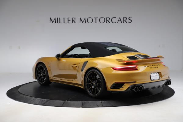 Used 2019 Porsche 911 Turbo S Exclusive for sale $249,900 at Rolls-Royce Motor Cars Greenwich in Greenwich CT 06830 14