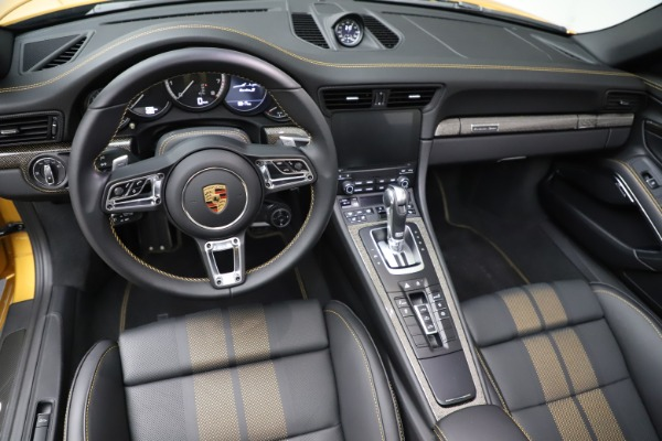 Used 2019 Porsche 911 Turbo S Exclusive for sale $249,900 at Rolls-Royce Motor Cars Greenwich in Greenwich CT 06830 22