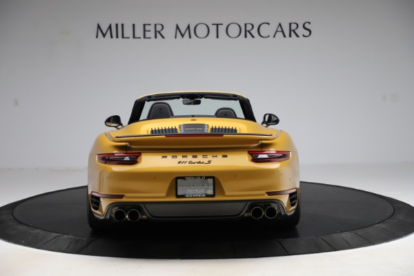 Used 2019 Porsche 911 Turbo S Exclusive for sale $249,900 at Rolls-Royce Motor Cars Greenwich in Greenwich CT 06830 6