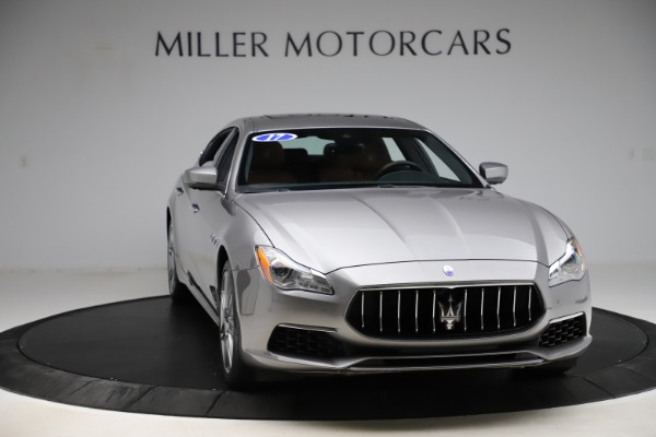 Used 2017 Maserati Quattroporte S Q4 GranLusso for sale $59,900 at Rolls-Royce Motor Cars Greenwich in Greenwich CT 06830 11