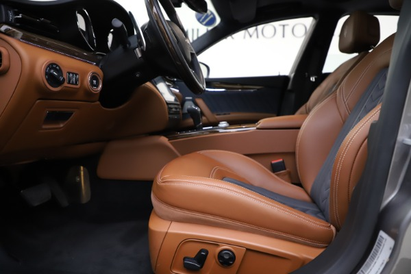 Used 2017 Maserati Quattroporte S Q4 GranLusso for sale $59,900 at Rolls-Royce Motor Cars Greenwich in Greenwich CT 06830 14
