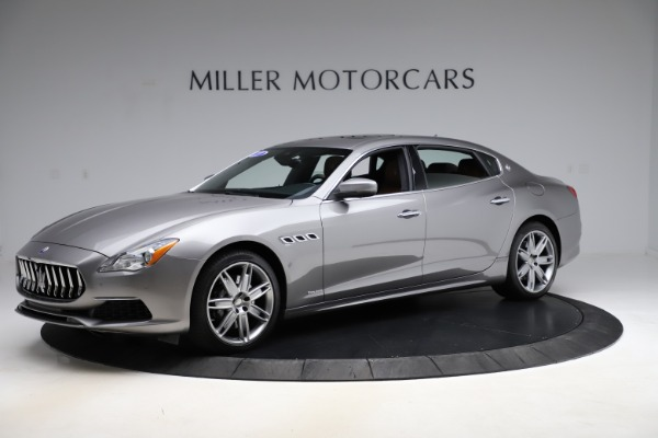 Used 2017 Maserati Quattroporte S Q4 GranLusso for sale $59,900 at Rolls-Royce Motor Cars Greenwich in Greenwich CT 06830 2