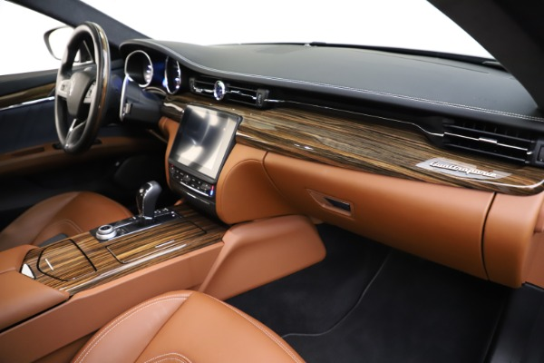 Used 2017 Maserati Quattroporte S Q4 GranLusso for sale $59,900 at Rolls-Royce Motor Cars Greenwich in Greenwich CT 06830 22