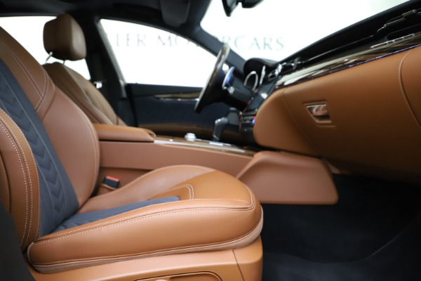 Used 2017 Maserati Quattroporte S Q4 GranLusso for sale $59,900 at Rolls-Royce Motor Cars Greenwich in Greenwich CT 06830 23