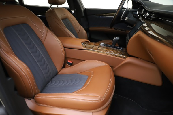 Used 2017 Maserati Quattroporte S Q4 GranLusso for sale $59,900 at Rolls-Royce Motor Cars Greenwich in Greenwich CT 06830 24