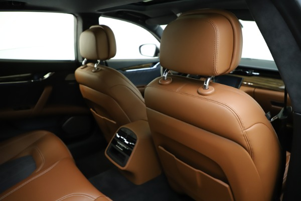 Used 2017 Maserati Quattroporte S Q4 GranLusso for sale $59,900 at Rolls-Royce Motor Cars Greenwich in Greenwich CT 06830 28
