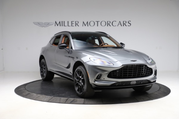New 2021 Aston Martin DBX SUV for sale $229,486 at Rolls-Royce Motor Cars Greenwich in Greenwich CT 06830 10