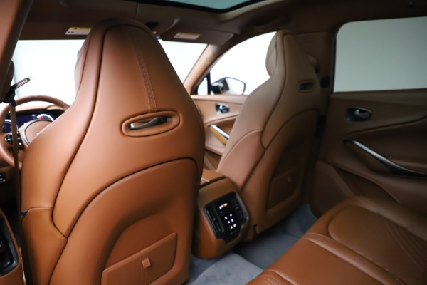 New 2021 Aston Martin DBX for sale $229,486 at Rolls-Royce Motor Cars Greenwich in Greenwich CT 06830 17