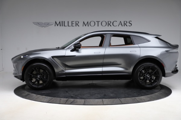 New 2021 Aston Martin DBX SUV for sale $229,486 at Rolls-Royce Motor Cars Greenwich in Greenwich CT 06830 2