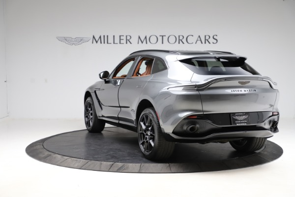 New 2021 Aston Martin DBX SUV for sale $229,486 at Rolls-Royce Motor Cars Greenwich in Greenwich CT 06830 4