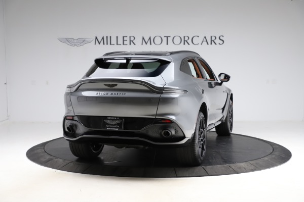 New 2021 Aston Martin DBX SUV for sale $229,486 at Rolls-Royce Motor Cars Greenwich in Greenwich CT 06830 6