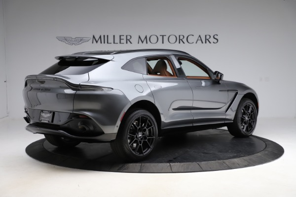 New 2021 Aston Martin DBX SUV for sale $229,486 at Rolls-Royce Motor Cars Greenwich in Greenwich CT 06830 7