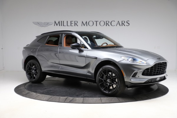 New 2021 Aston Martin DBX SUV for sale $229,486 at Rolls-Royce Motor Cars Greenwich in Greenwich CT 06830 9