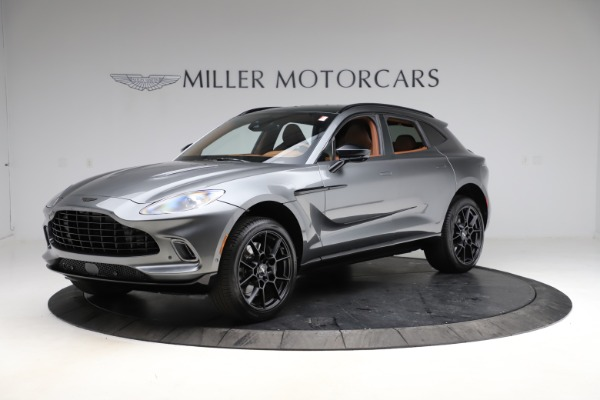 New 2021 Aston Martin DBX SUV for sale $229,486 at Rolls-Royce Motor Cars Greenwich in Greenwich CT 06830 1
