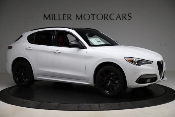 New 2020 Alfa Romeo Stelvio Ti Sport Q4 for sale $53,445 at Rolls-Royce Motor Cars Greenwich in Greenwich CT 06830 10