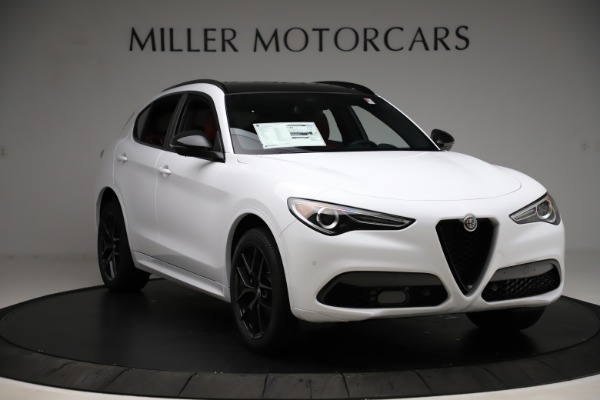 New 2020 Alfa Romeo Stelvio Ti Sport Q4 for sale $53,445 at Rolls-Royce Motor Cars Greenwich in Greenwich CT 06830 11