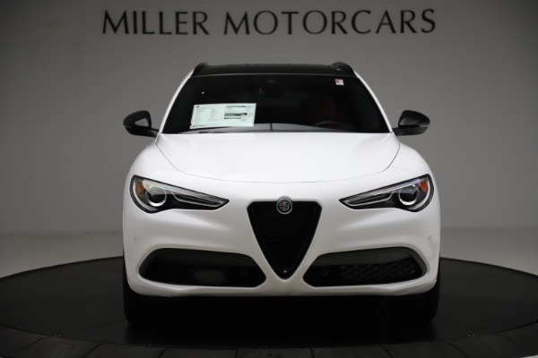 New 2020 Alfa Romeo Stelvio Ti Sport Q4 for sale $53,445 at Rolls-Royce Motor Cars Greenwich in Greenwich CT 06830 12
