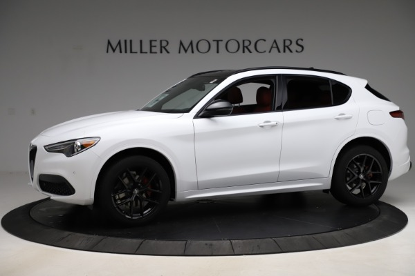New 2020 Alfa Romeo Stelvio Ti Sport Q4 for sale $53,445 at Rolls-Royce Motor Cars Greenwich in Greenwich CT 06830 2