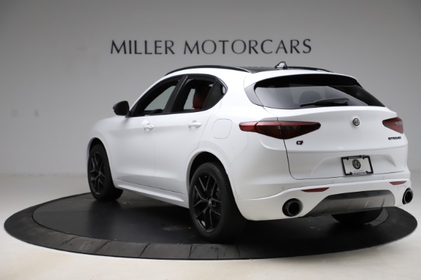 New 2020 Alfa Romeo Stelvio Ti Sport Q4 for sale $53,445 at Rolls-Royce Motor Cars Greenwich in Greenwich CT 06830 5