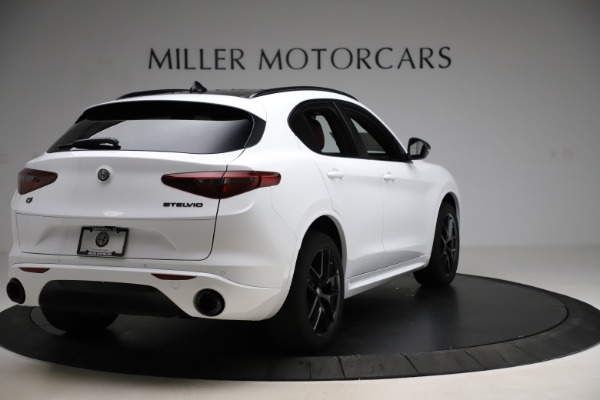 New 2020 Alfa Romeo Stelvio Ti Sport Q4 for sale $53,445 at Rolls-Royce Motor Cars Greenwich in Greenwich CT 06830 7
