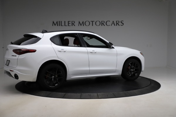 New 2020 Alfa Romeo Stelvio Ti Sport Q4 for sale $53,445 at Rolls-Royce Motor Cars Greenwich in Greenwich CT 06830 8