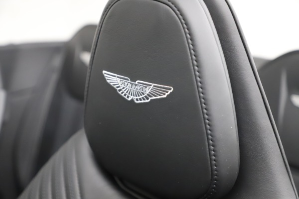 New 2021 Aston Martin DB11 Volante Convertible for sale $254,416 at Rolls-Royce Motor Cars Greenwich in Greenwich CT 06830 23