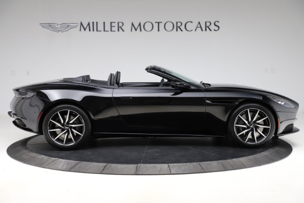 New 2021 Aston Martin DB11 Volante Convertible for sale $254,416 at Rolls-Royce Motor Cars Greenwich in Greenwich CT 06830 8