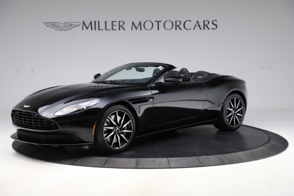 New 2021 Aston Martin DB11 Volante for sale $254,416 at Rolls-Royce Motor Cars Greenwich in Greenwich CT 06830 1
