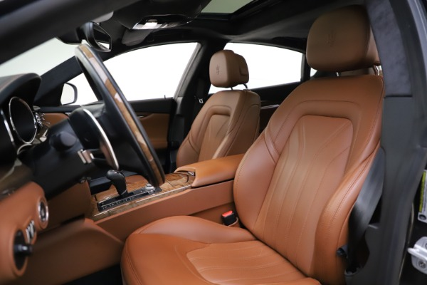 Used 2018 Maserati Quattroporte S Q4 GranLusso for sale Sold at Rolls-Royce Motor Cars Greenwich in Greenwich CT 06830 15