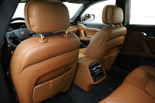 Used 2018 Maserati Quattroporte S Q4 GranLusso for sale Sold at Rolls-Royce Motor Cars Greenwich in Greenwich CT 06830 22