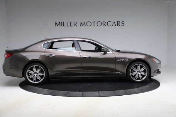 Used 2018 Maserati Quattroporte S Q4 GranLusso for sale Sold at Rolls-Royce Motor Cars Greenwich in Greenwich CT 06830 9
