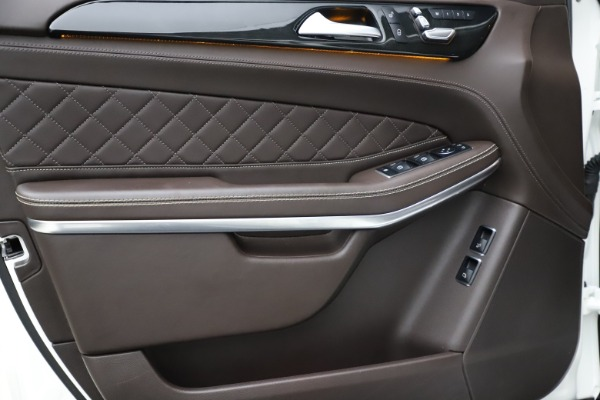 Used 2018 Mercedes-Benz GLS 550 for sale $67,900 at Rolls-Royce Motor Cars Greenwich in Greenwich CT 06830 15