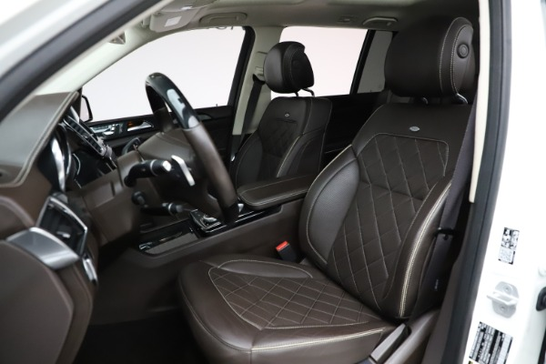 Used 2018 Mercedes-Benz GLS 550 for sale $67,900 at Rolls-Royce Motor Cars Greenwich in Greenwich CT 06830 18