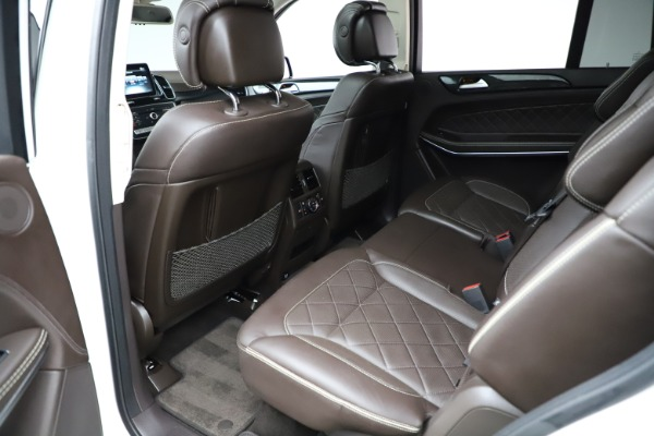 Used 2018 Mercedes-Benz GLS 550 for sale $67,900 at Rolls-Royce Motor Cars Greenwich in Greenwich CT 06830 19