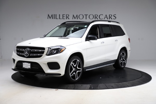 Used 2018 Mercedes-Benz GLS 550 for sale $67,900 at Rolls-Royce Motor Cars Greenwich in Greenwich CT 06830 2