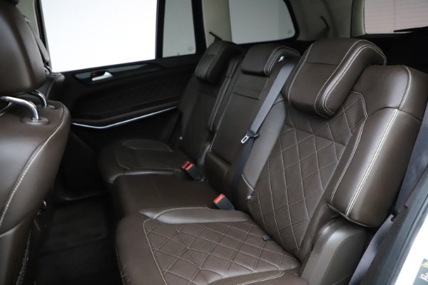 Used 2018 Mercedes-Benz GLS 550 for sale $67,900 at Rolls-Royce Motor Cars Greenwich in Greenwich CT 06830 21