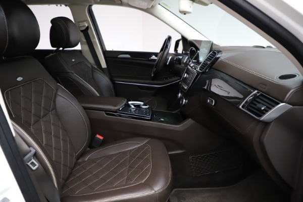 Used 2018 Mercedes-Benz GLS 550 for sale $67,900 at Rolls-Royce Motor Cars Greenwich in Greenwich CT 06830 25