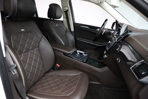 Used 2018 Mercedes-Benz GLS 550 for sale $67,900 at Rolls-Royce Motor Cars Greenwich in Greenwich CT 06830 26